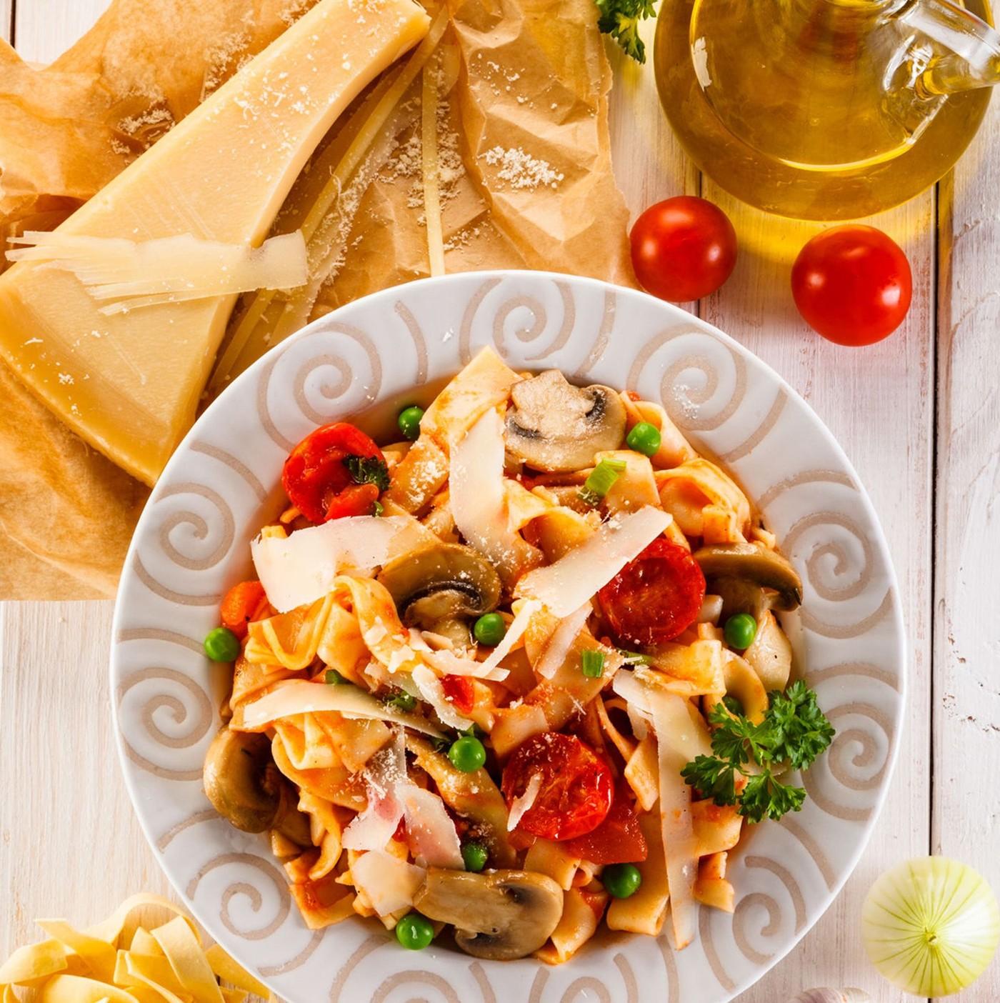 receta de Tagliatelle Al Tartufo Bianco