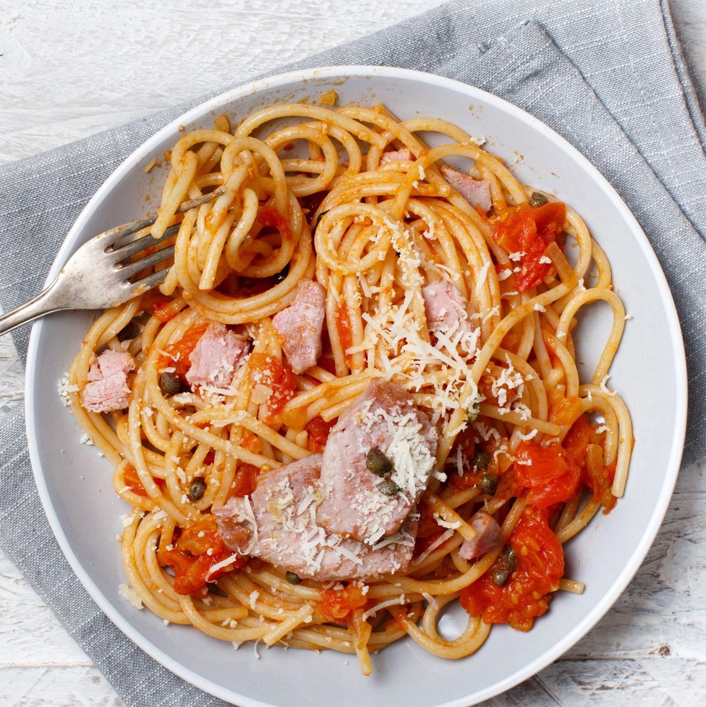 receta de Spaghetti N.12