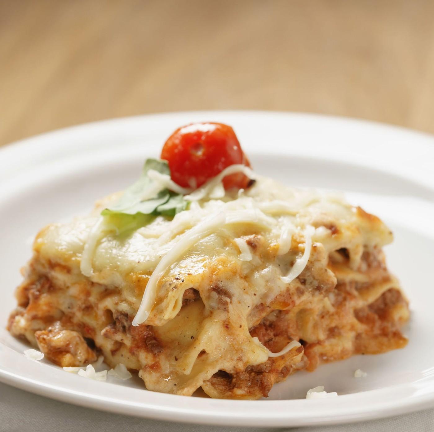 receta de Lasagna Larga Doppia Riccia N.1