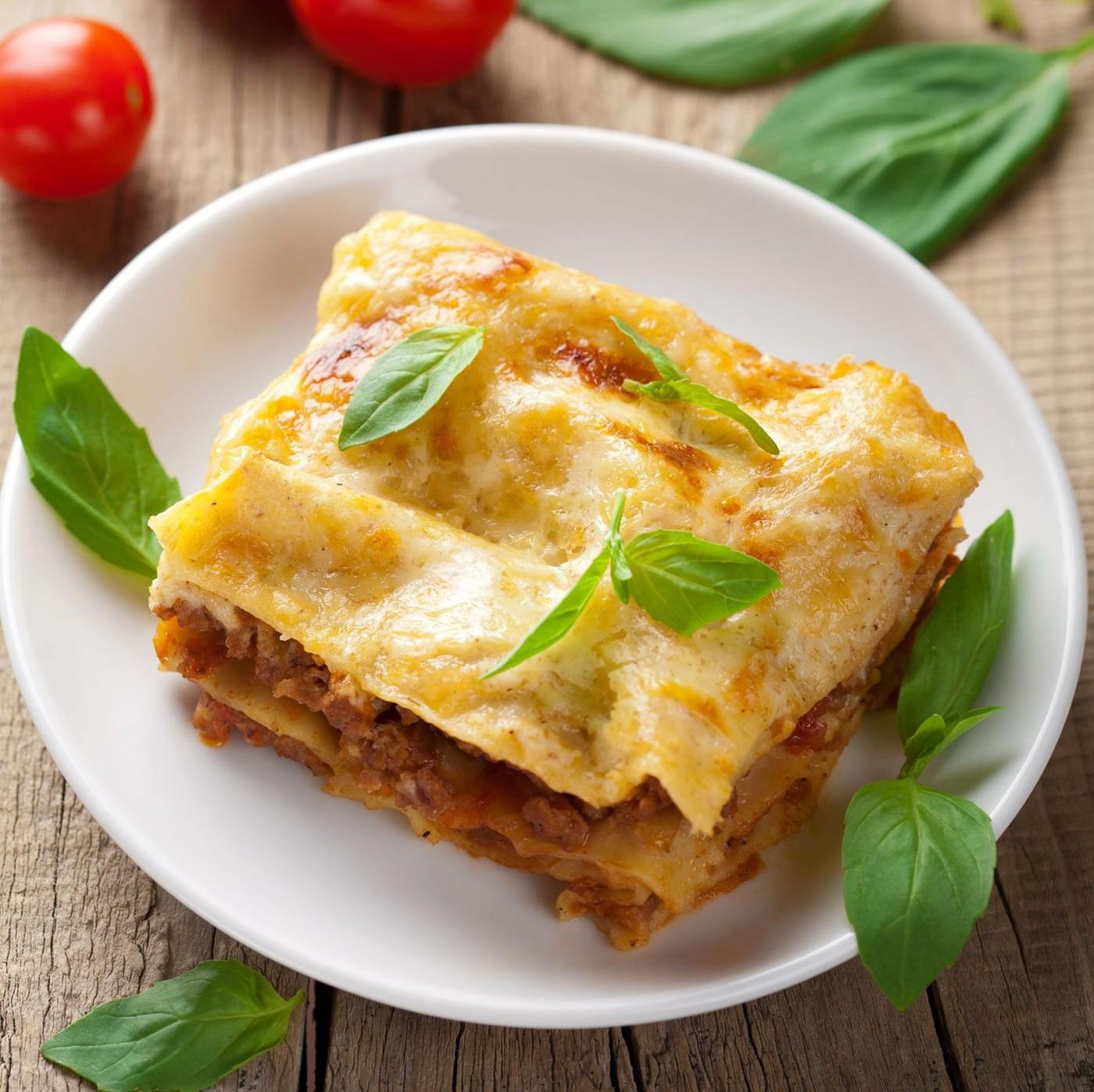 receta de Lasagna All'uovo N.112