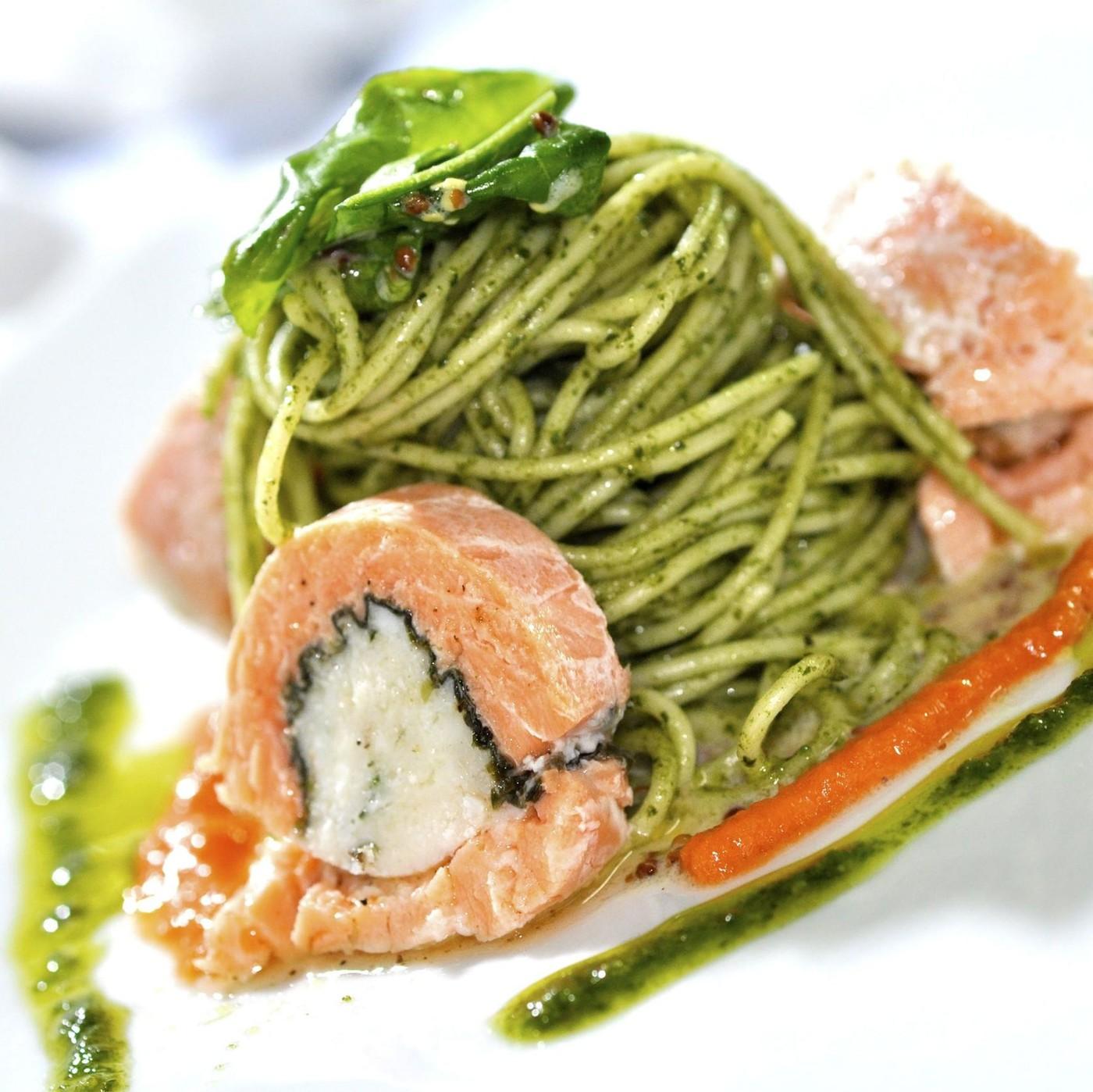 receta de Spaghetti Con Spinaci N.12