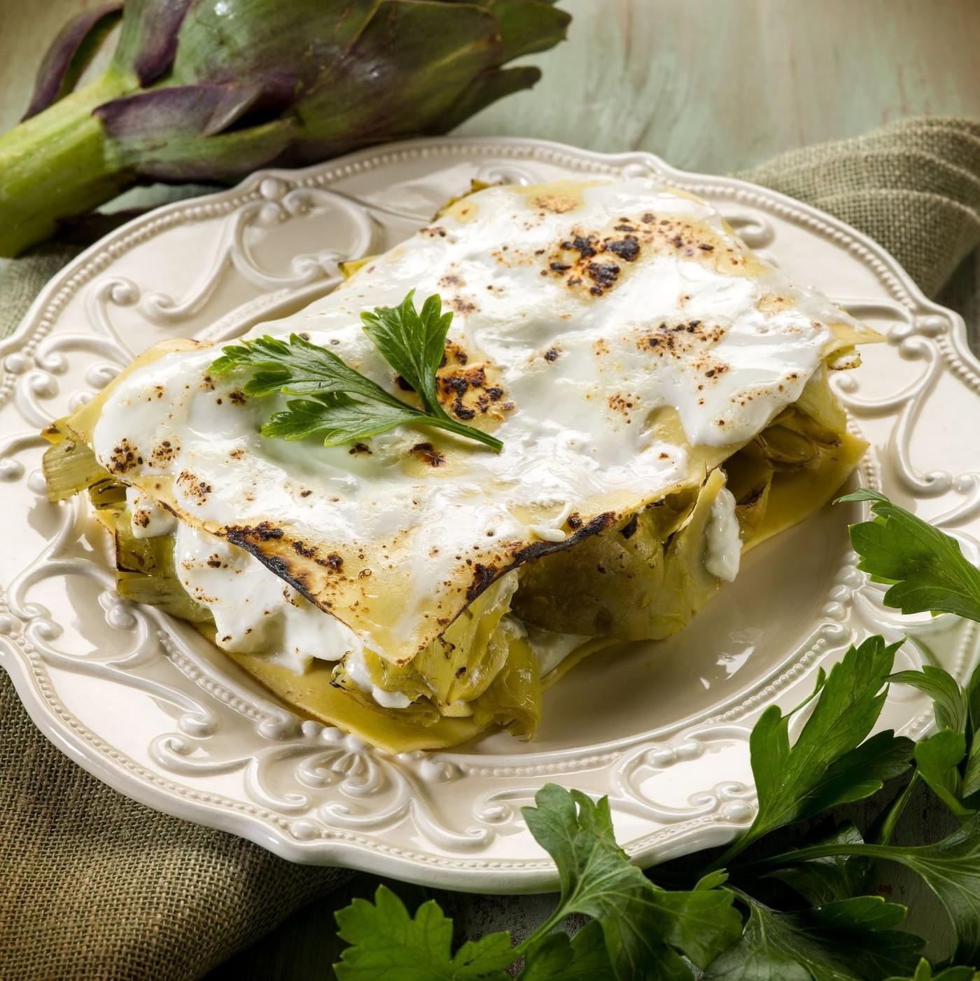 receta de Lasagna All´uovo Con Spinaci N.114
