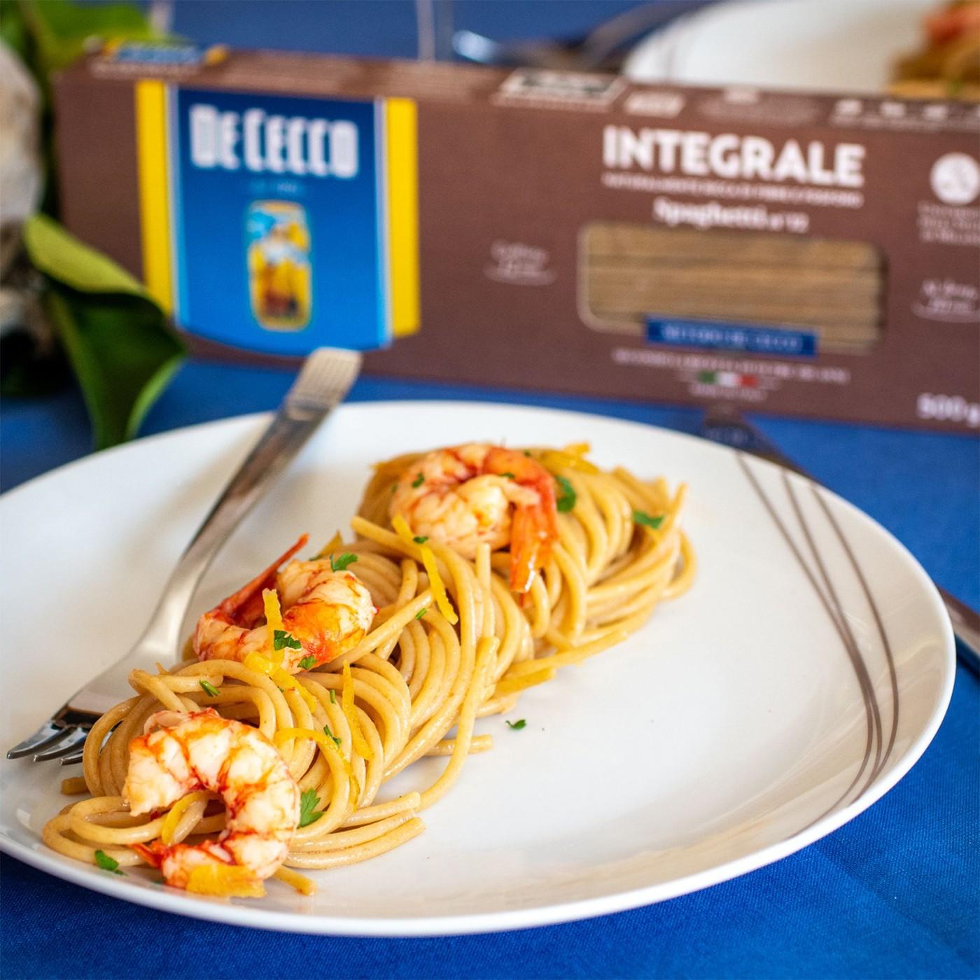 receta de Spaghetti Integral N.12