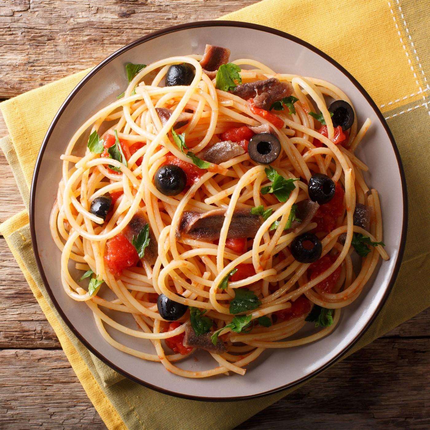 receta de Spaghettini n.11