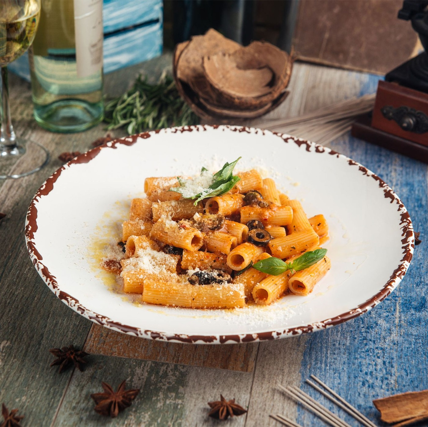 receta de Rigatoni Napoletani N.124