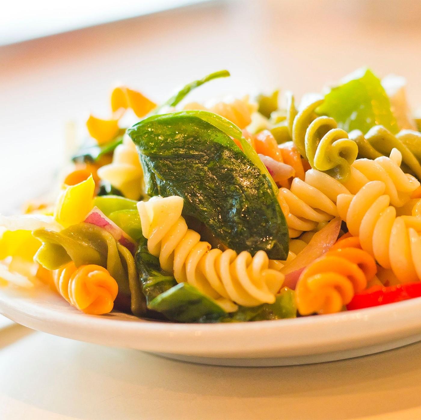 receta de Fusilli Tricolore