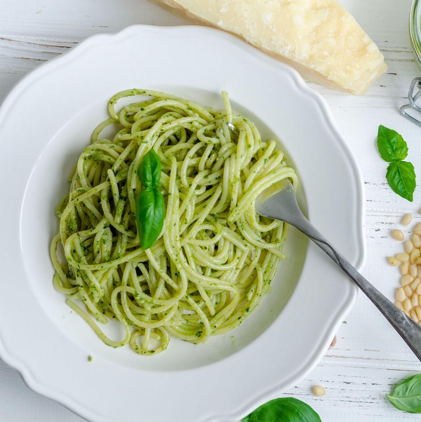 receta de Pesto Genovese