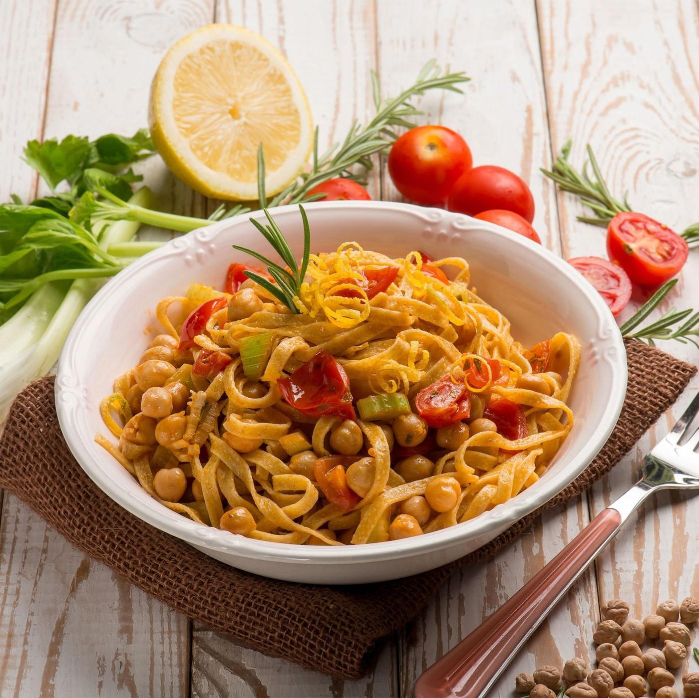 receta de Tagliatelline Nidi Semola N.204