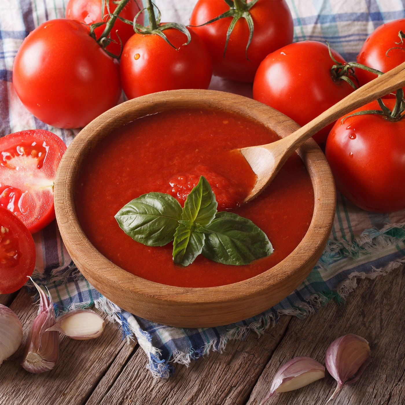 receta de Pulpa De Tomate Al Natural