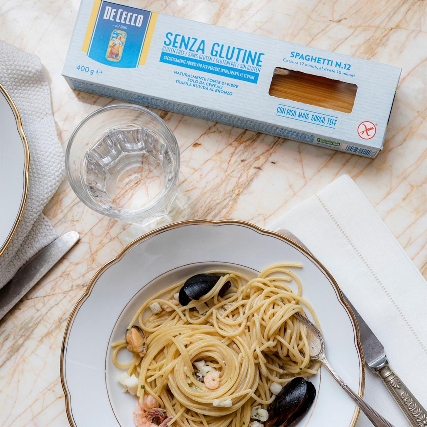 receta de Spaghetti Nº12 Sin Gluten