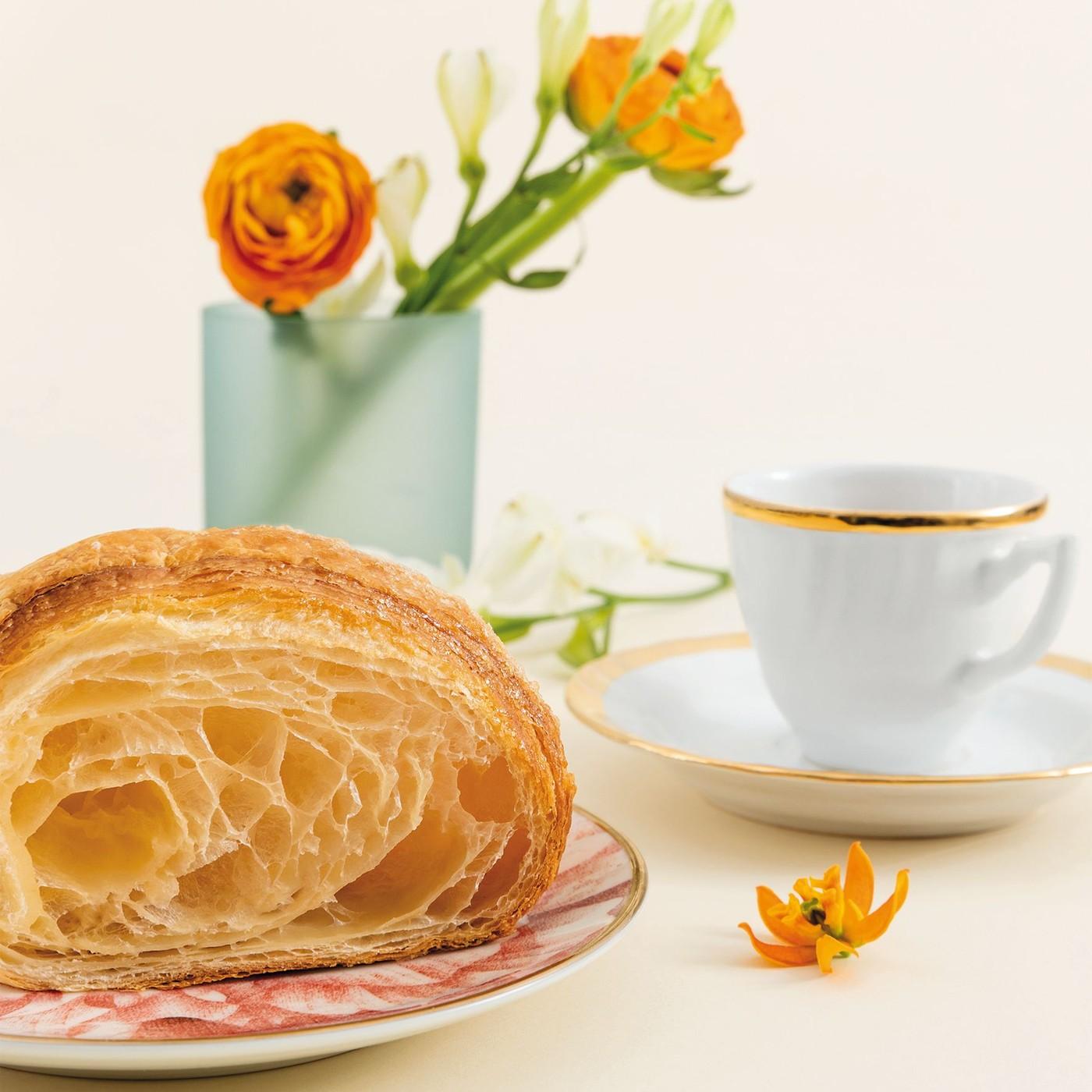 receta de Croissant Extra Curvo Sense Farcit
