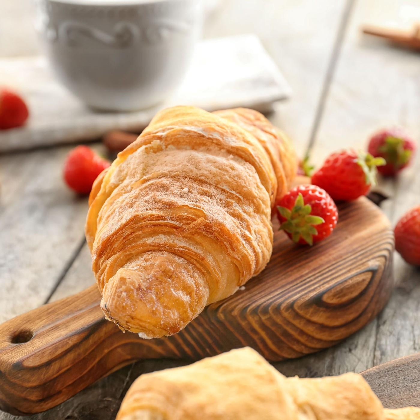 receta de Croissant extra curvo de pistacho