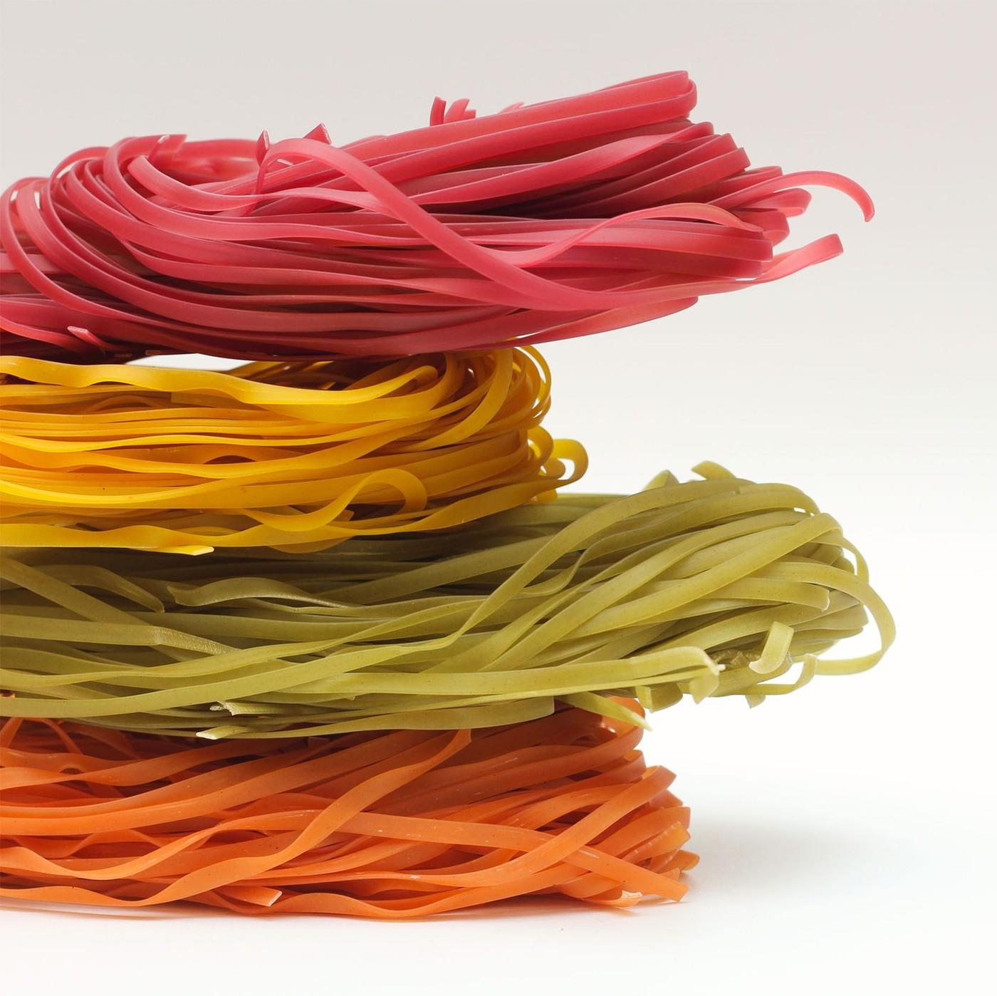 receta de Spaghetti tricolori lunghi