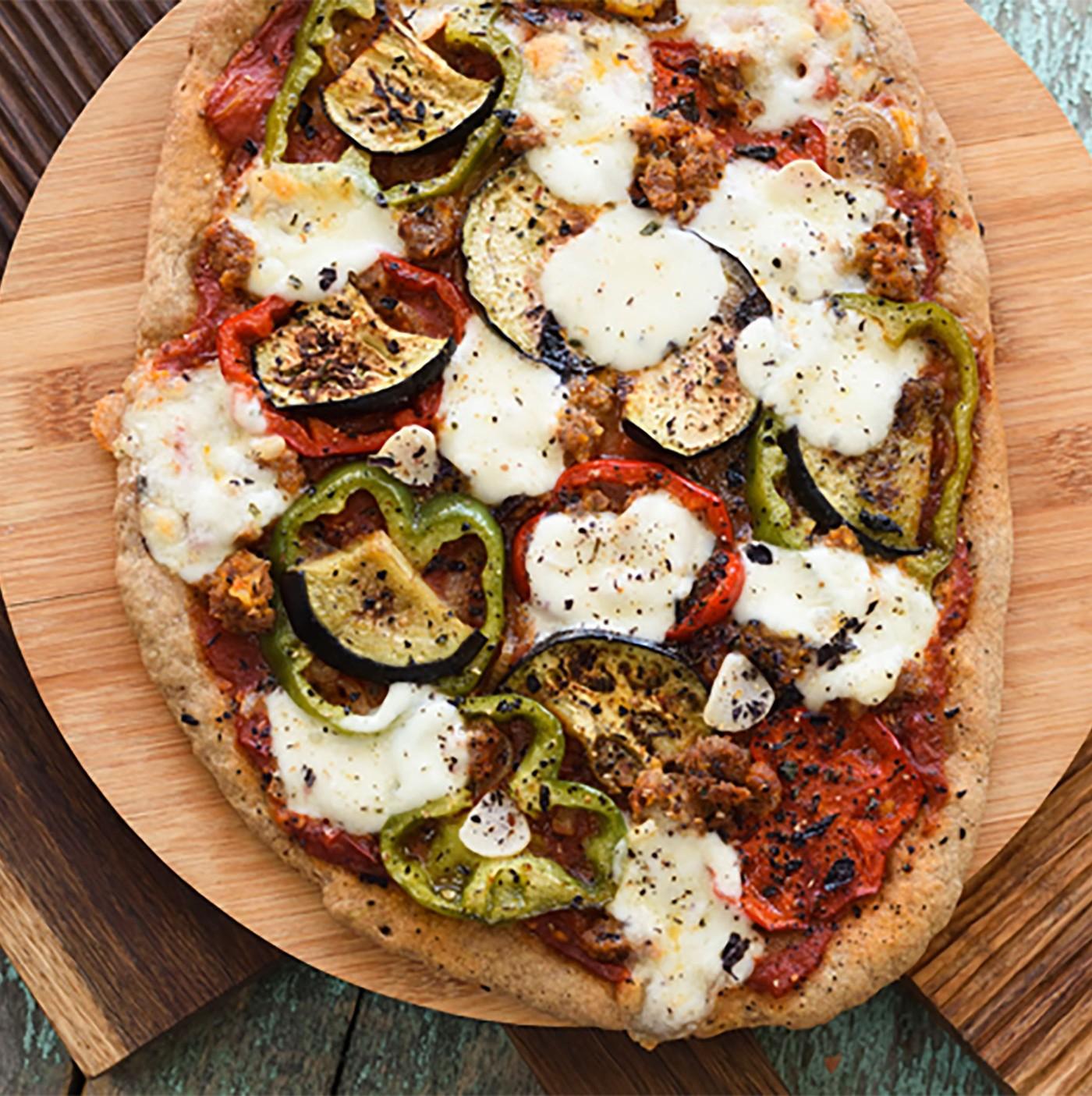 receta de Harina pizza soja