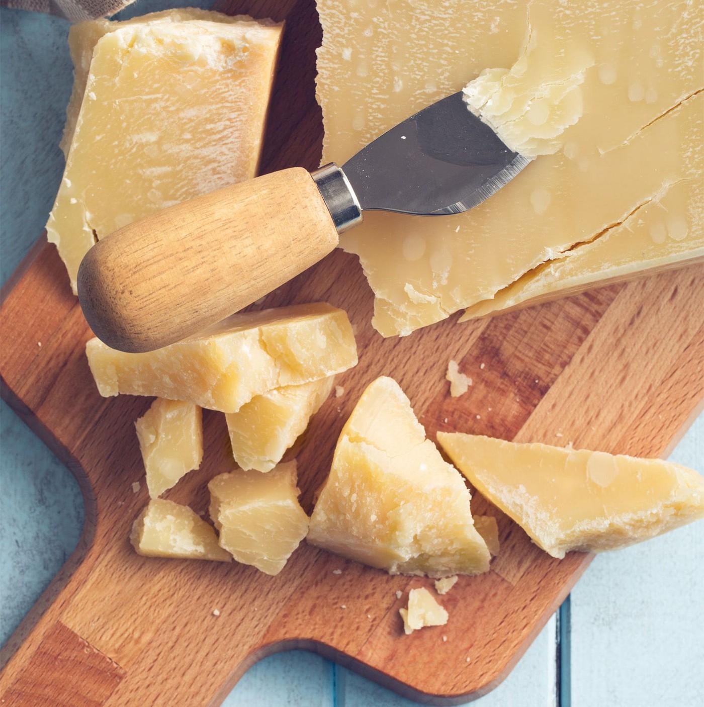 receta de Parmigiano Reggiano Dop De 12 Meses