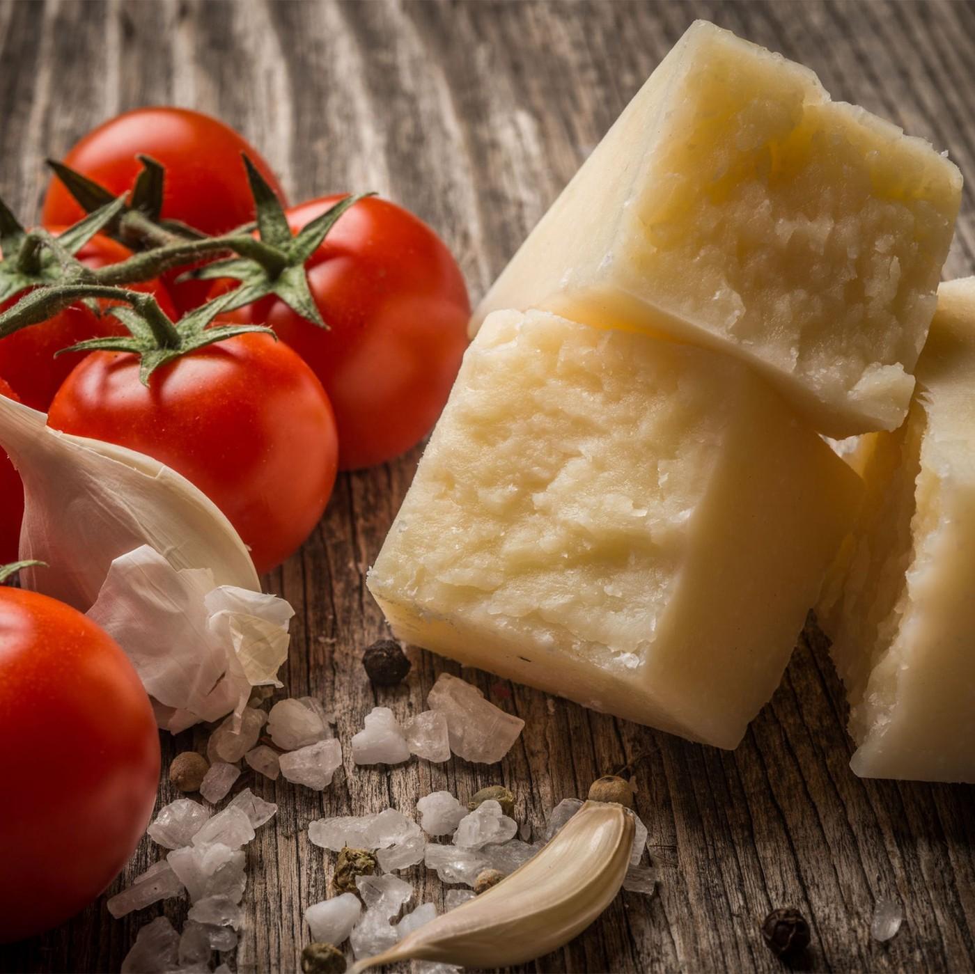 receta de Queso duro italiano