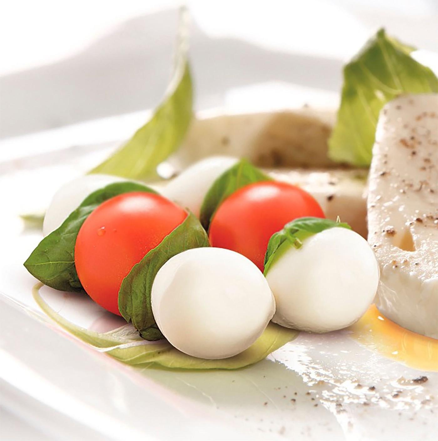 receta de Ciliegine Di Mozzarella