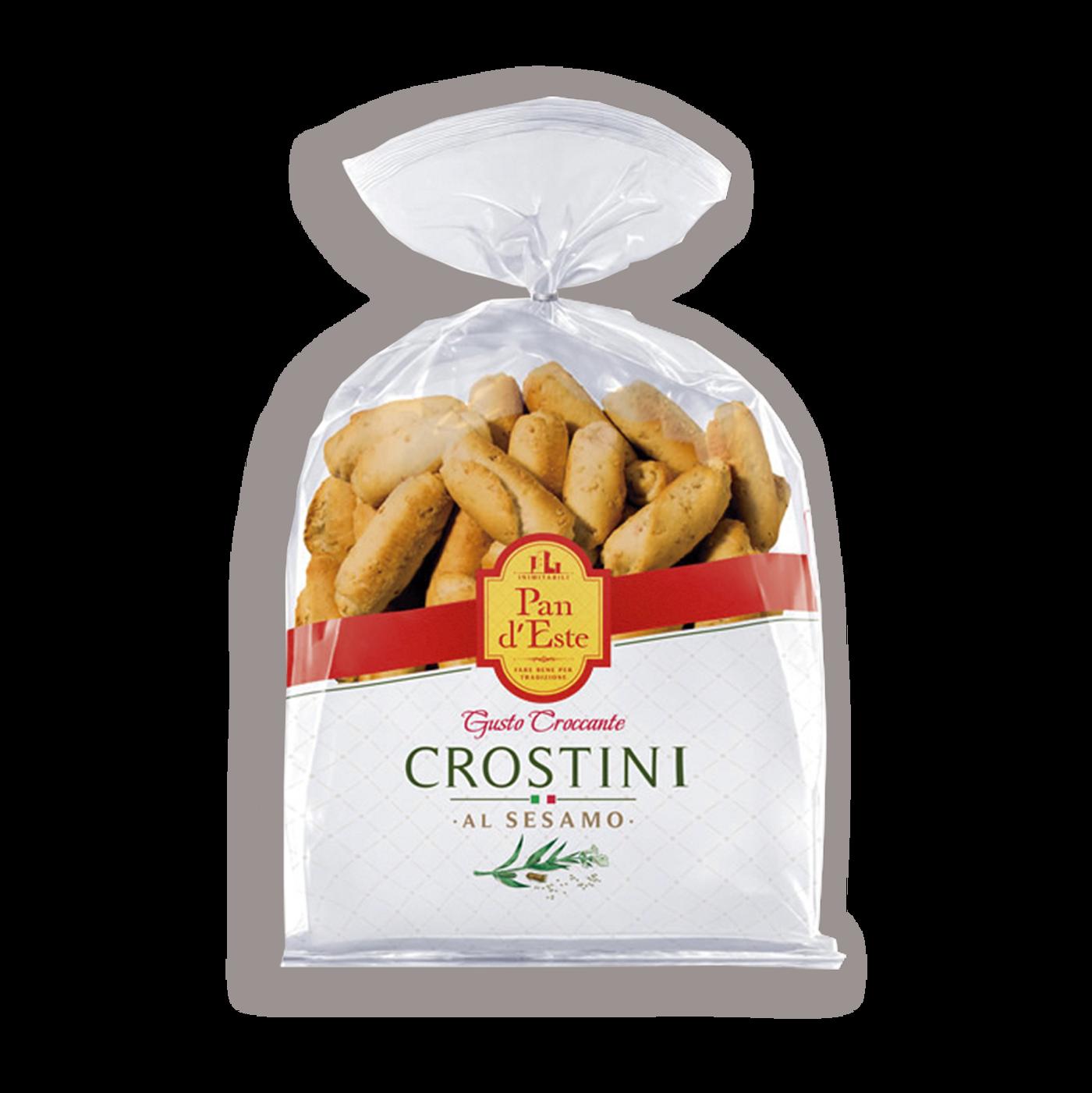 Crostini Al Sésamo