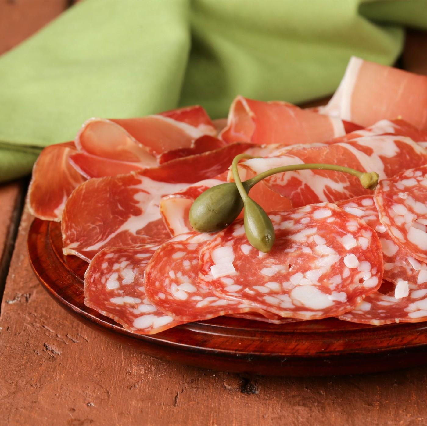 receta de Salame Spianata Romana