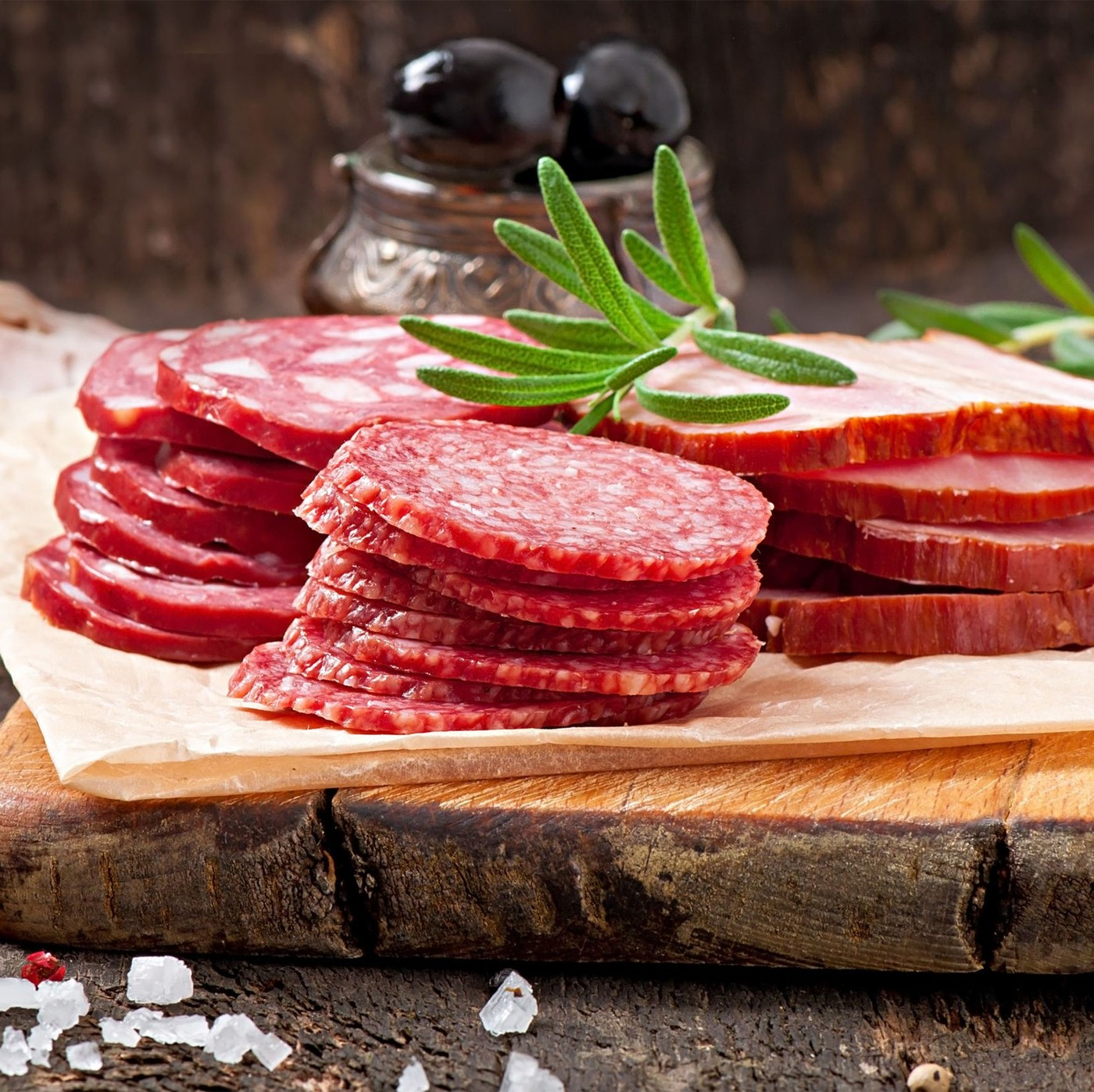 receta de Salame Milano