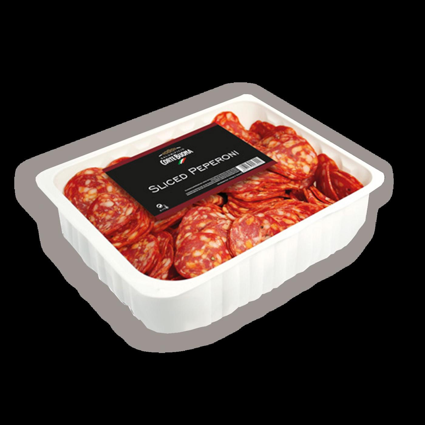 Salciccia pepperone precortada