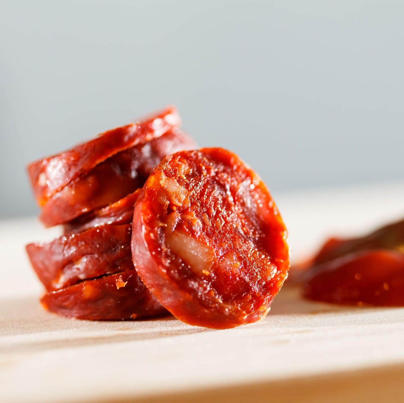 receta de Salciccia pepperone precortada