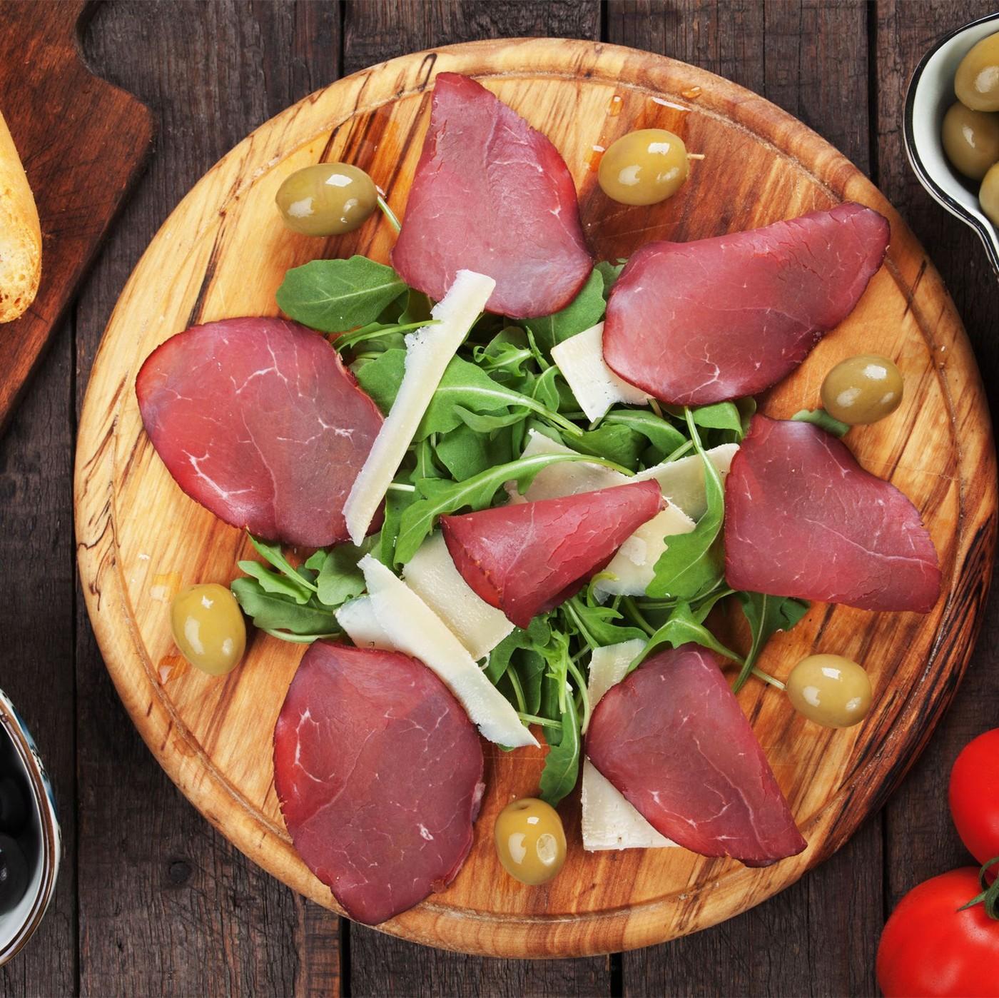 receta de Bresaola Punta D´anca Della Valtellina I.G.P. Solfiore