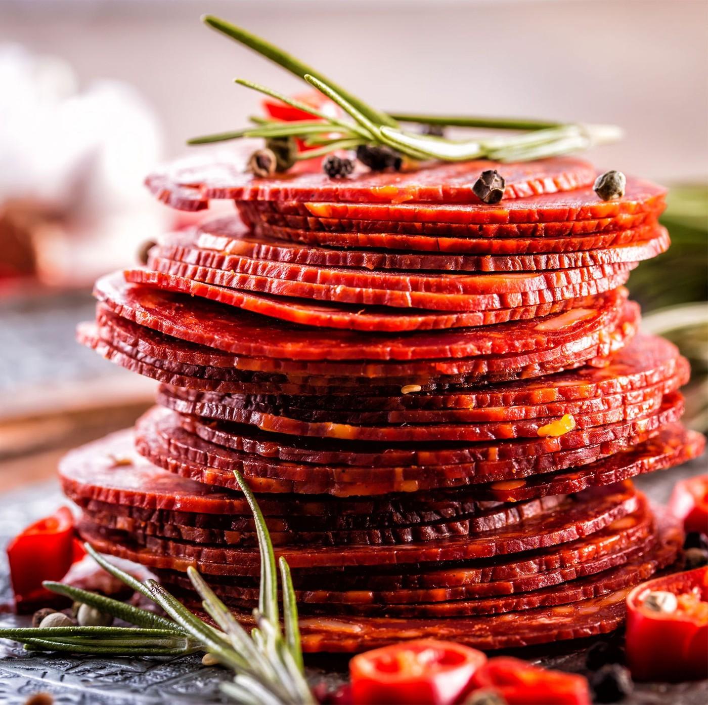 receta de Salame Ventricina