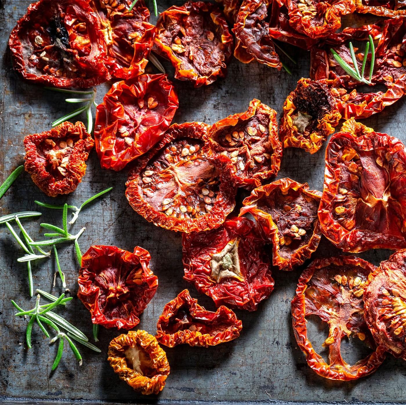 receta de Tomates Secos En Aceite