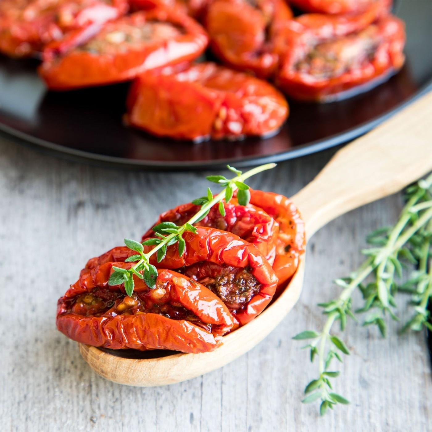 receta de Tomates Semi Secos