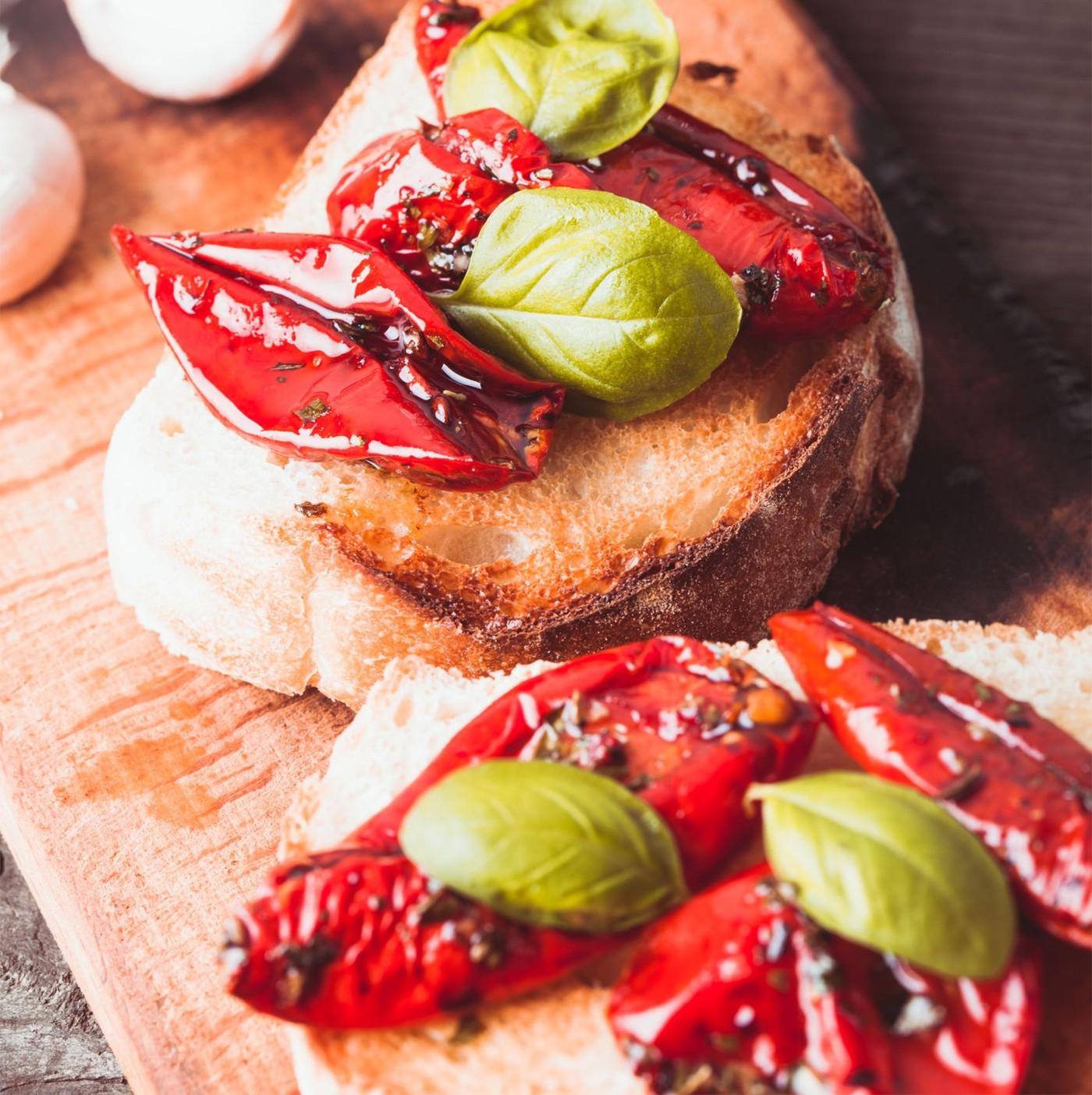 receta de Pomodori Semi Secchi