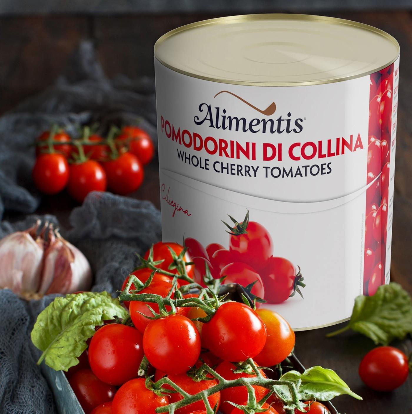 receta de Tomates cherry (pomodorini di colina)
