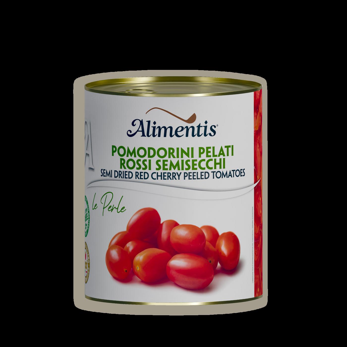 Tomates cherry rojos semisecos