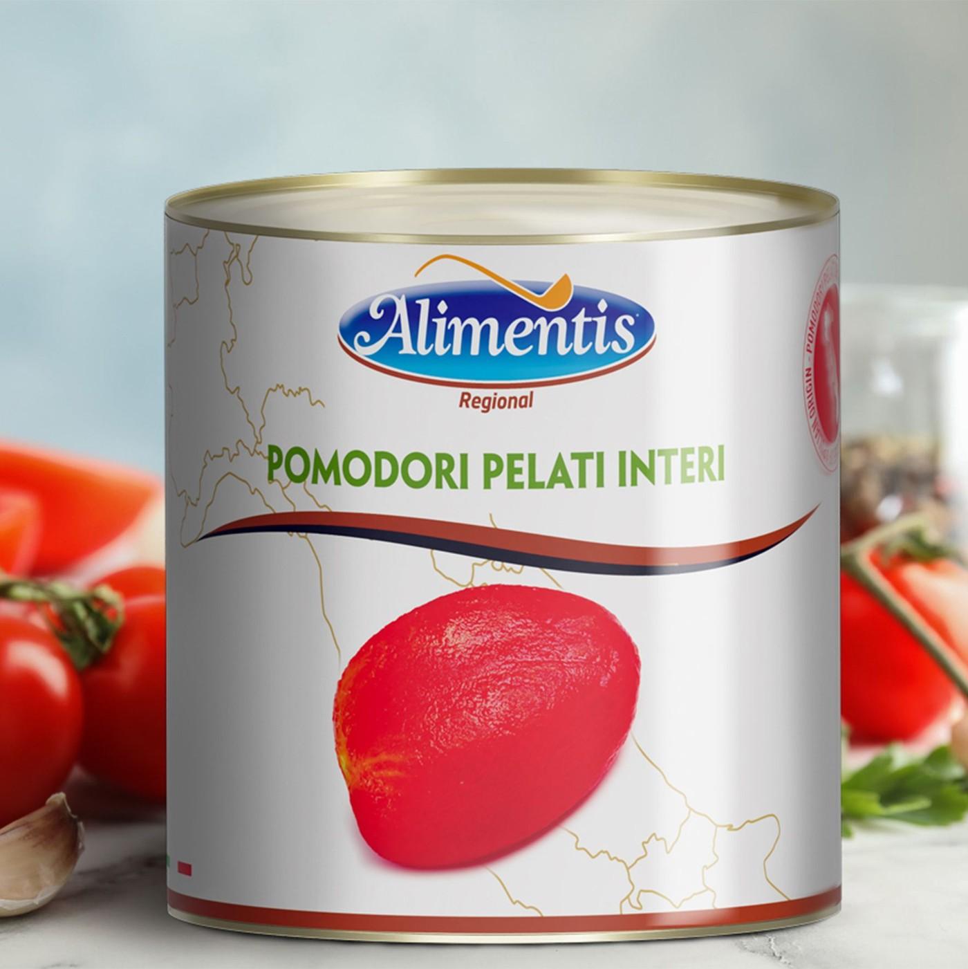 receta de Tomates Pelados Enteros