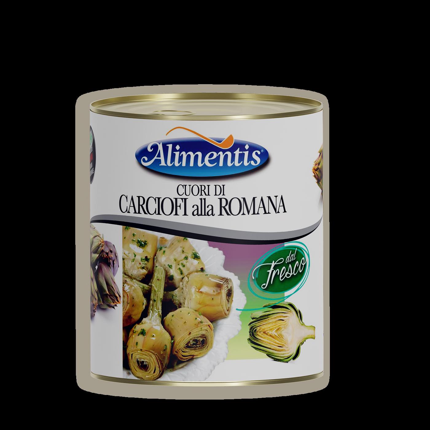 Corazones De Alcachofa A La Romana Con Pie Y En Aceite