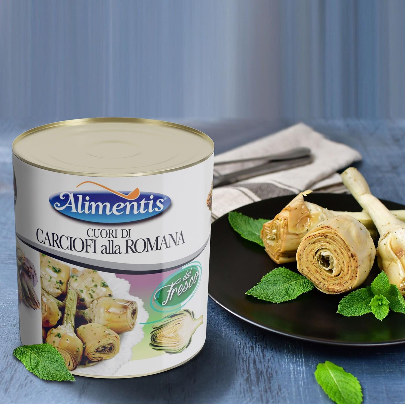 receta de Corazones De Alcachofa A La Romana Con Pie Y En Aceite