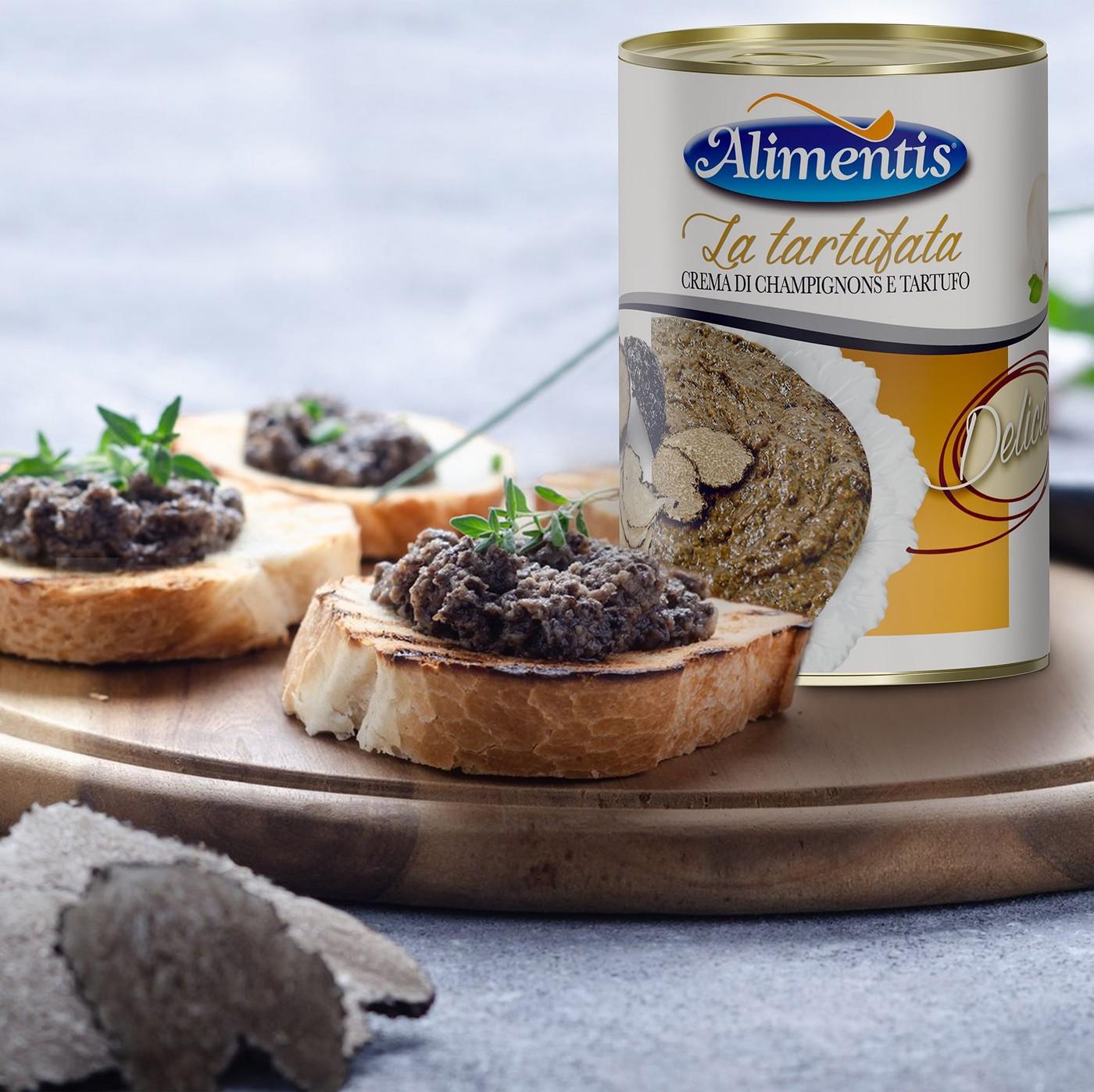 receta de Crema De Champiñones Y Trufa