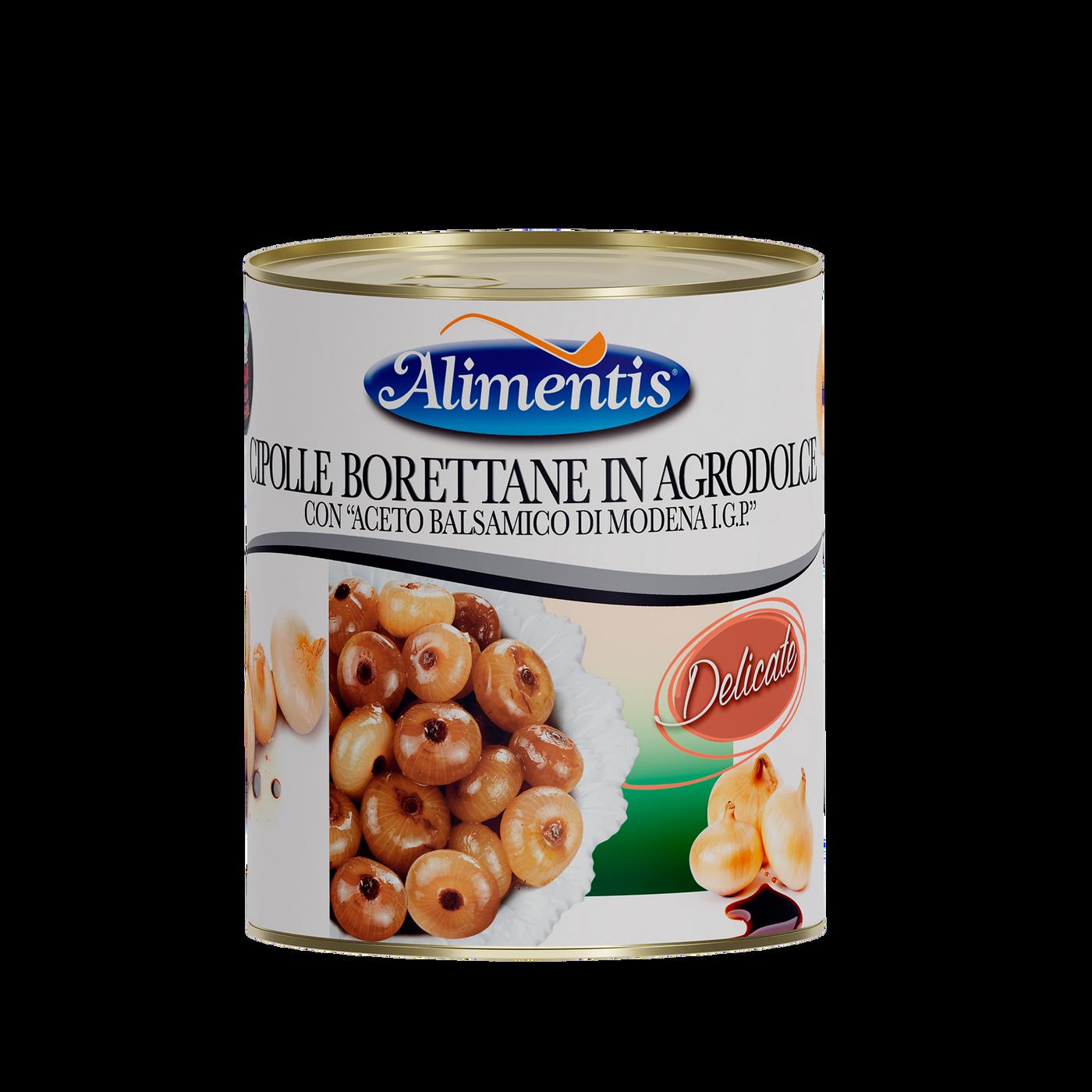 """Cebolla """"borettane"""" con vinagre balsámico """"delicata"""""""