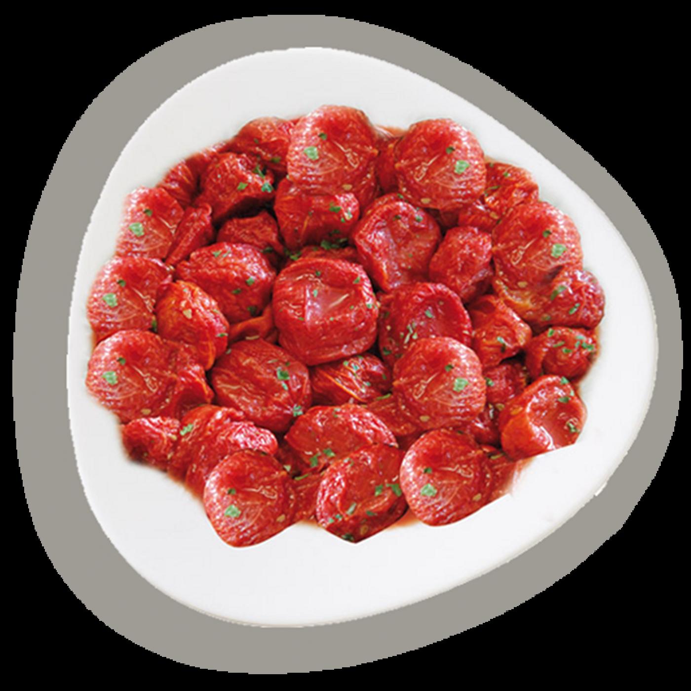 """Tomates Enteros Y Pelados Semisecos """"Le Perle"""""""