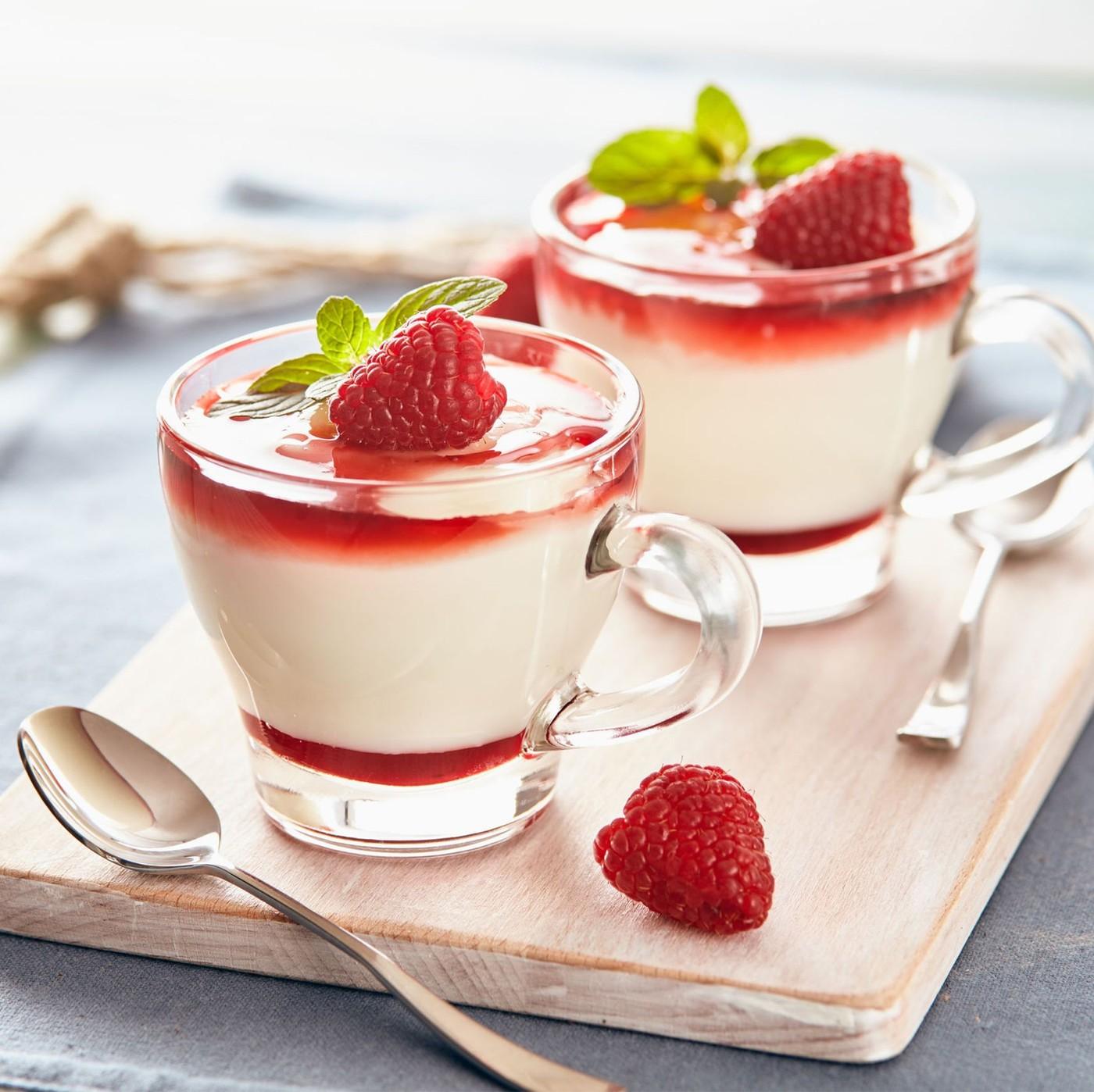 receta de Topping De Frutos Rojos
