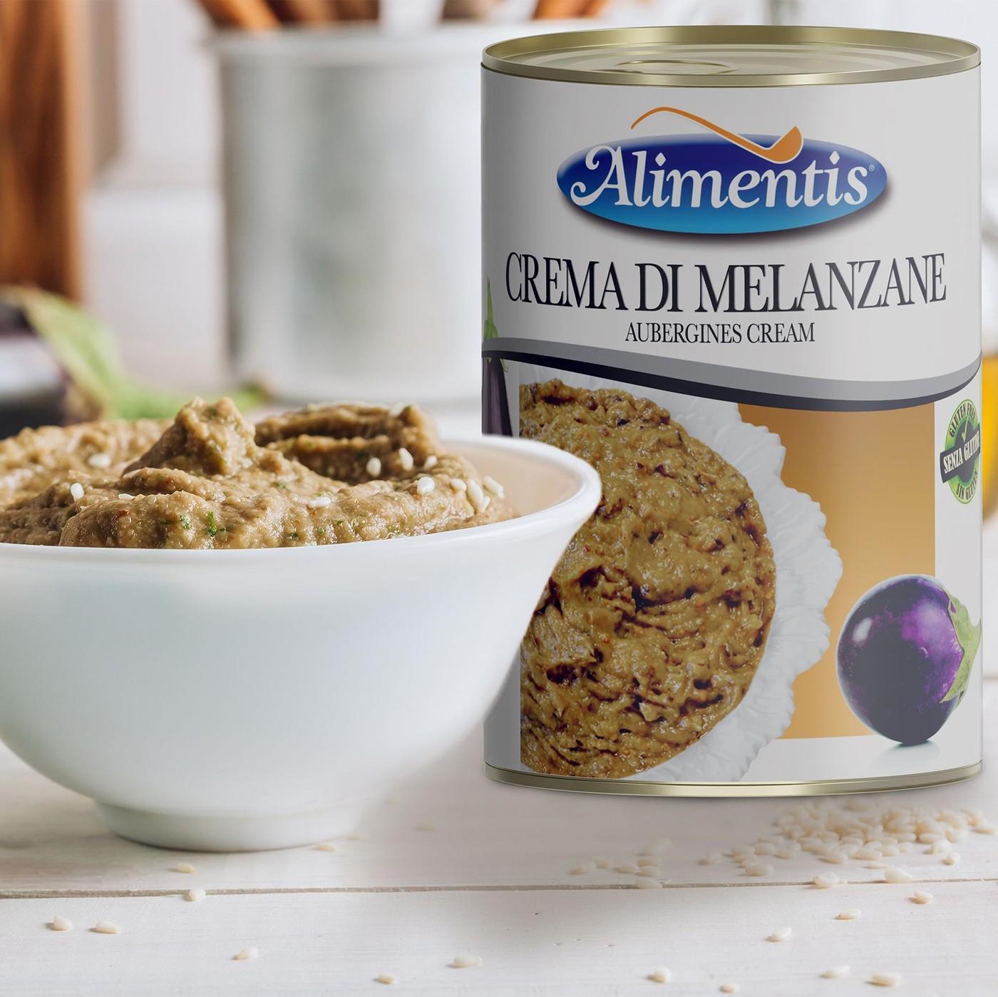 receta de Crema De Berenjena