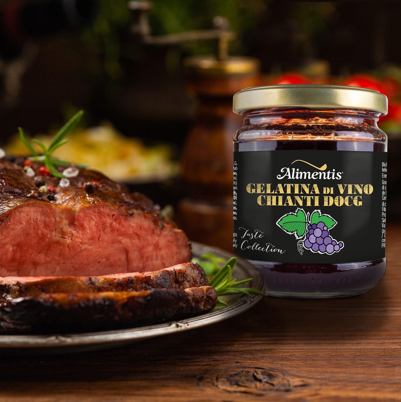 receta de Gelatina De Vino Chianti D.O.C.G.