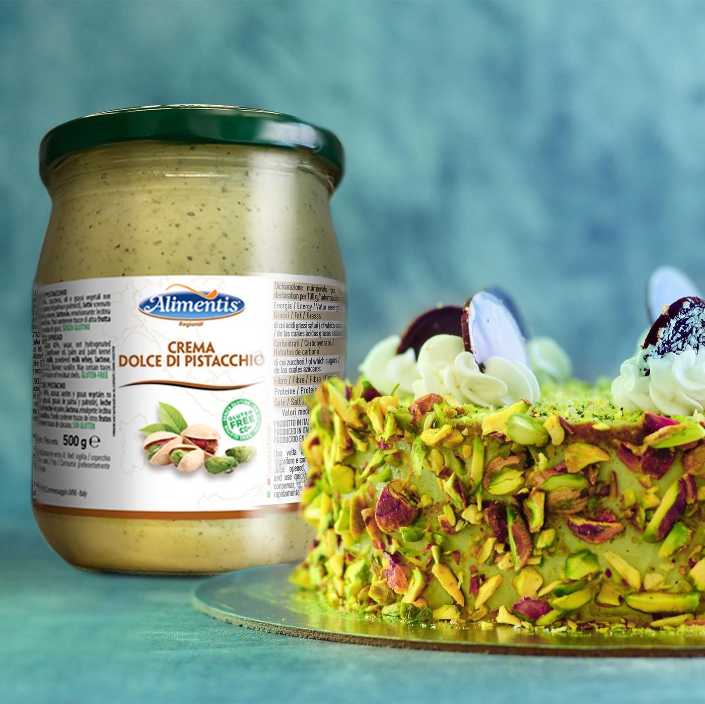receta de Crema dulce de pistacho
