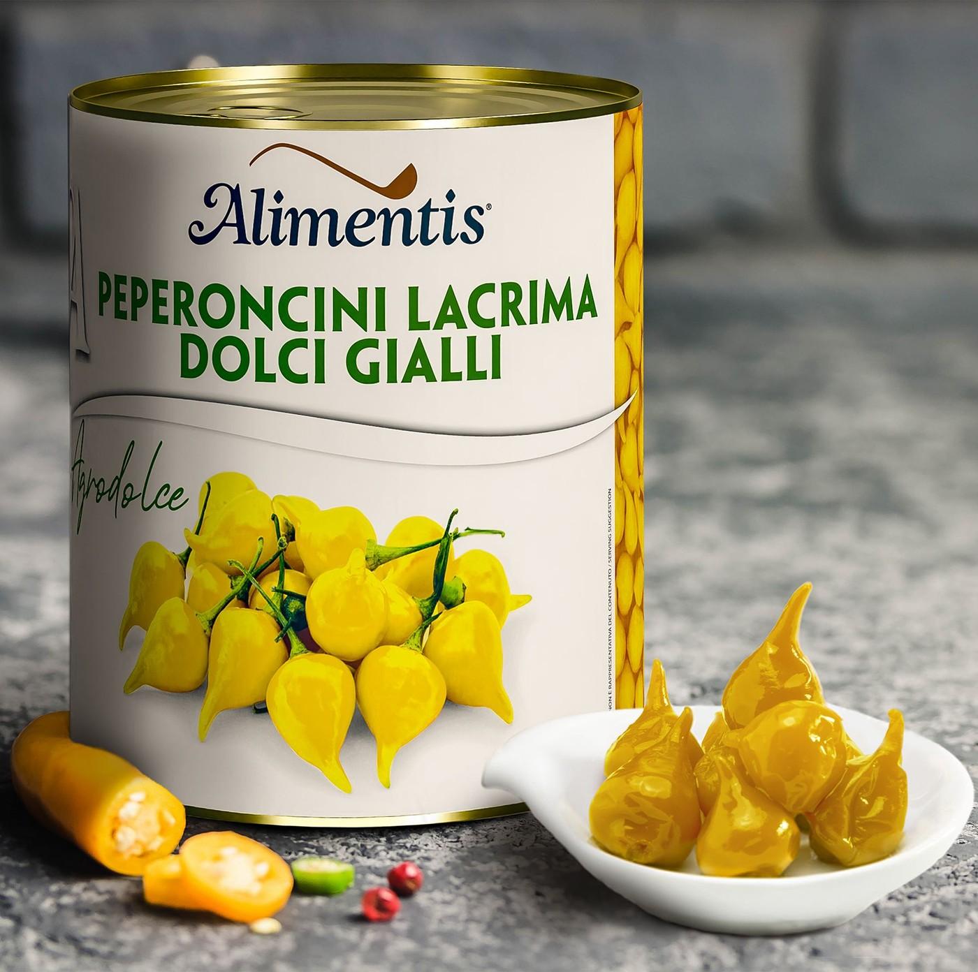 receta de Lágrimas De Pimientos Amarillos Dulces