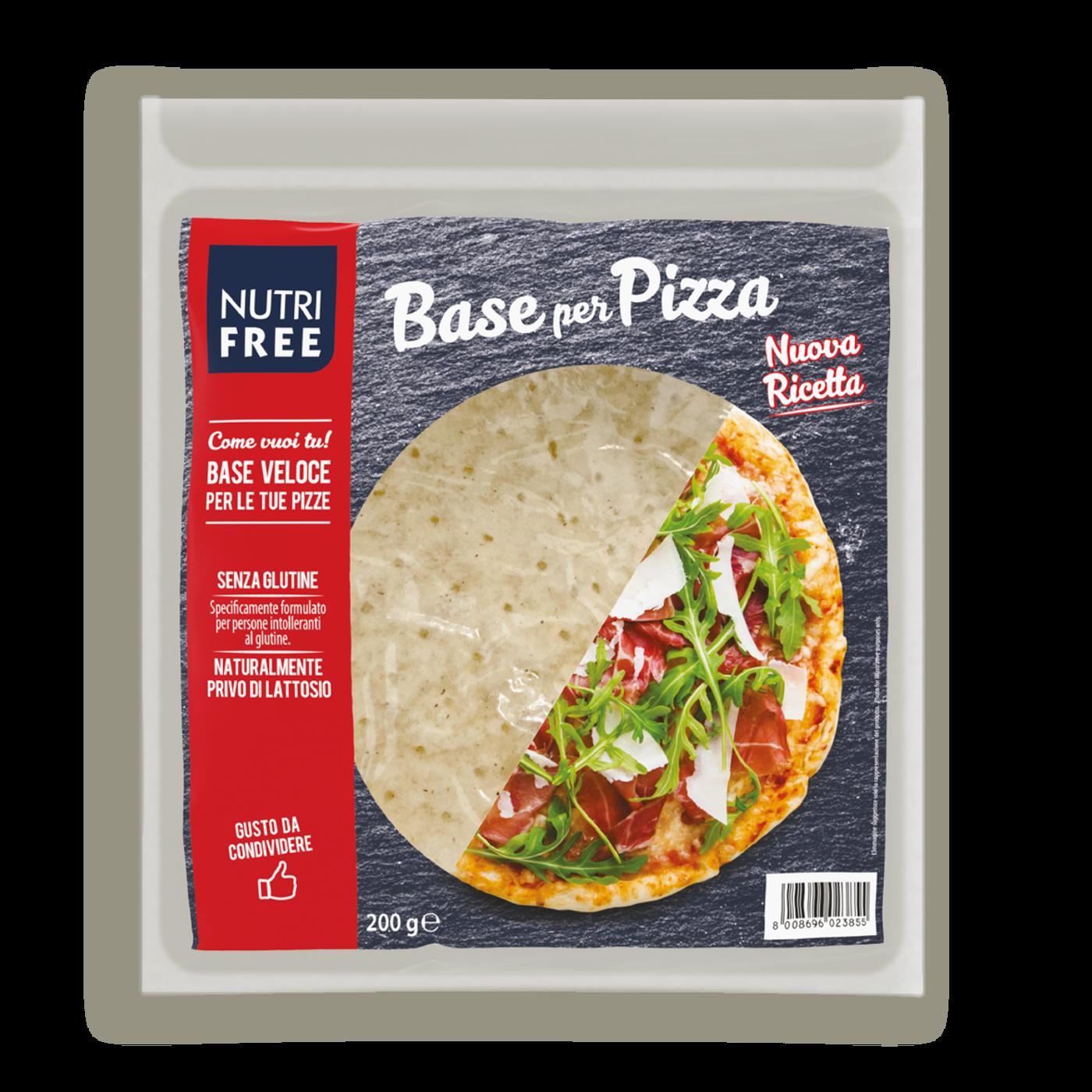 Base Para Pizza Ø27 Sin Gluten
