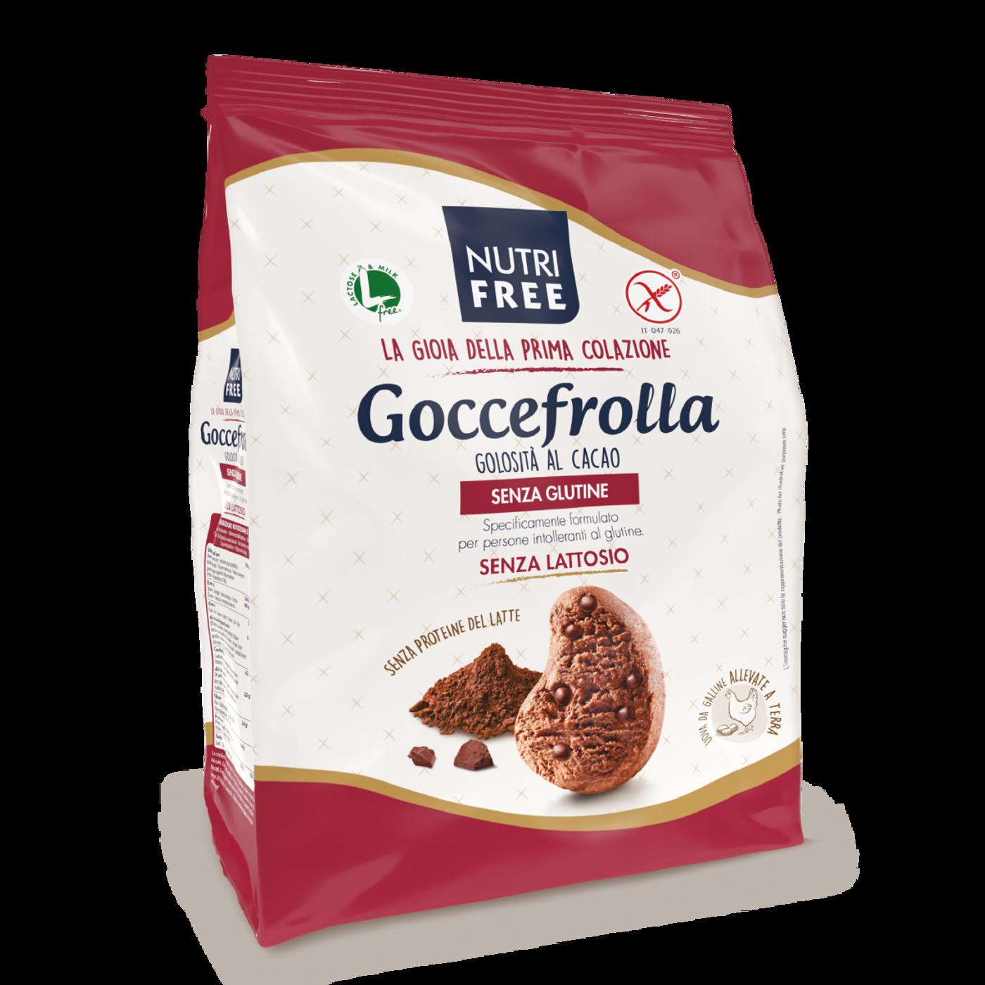 """Goccefrolla Golosità Al Cacao """"Sin Gluten"""""""