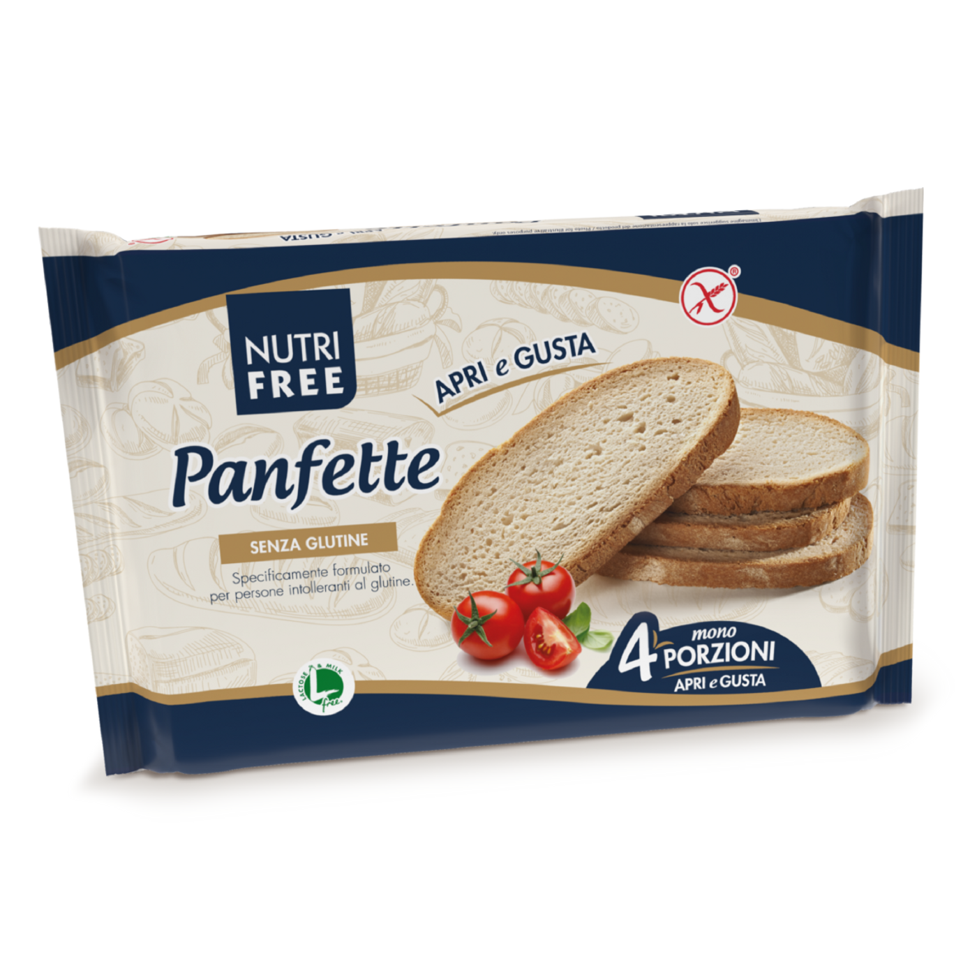 "Panfette Pan Casereccio ""Sin Gluten"""