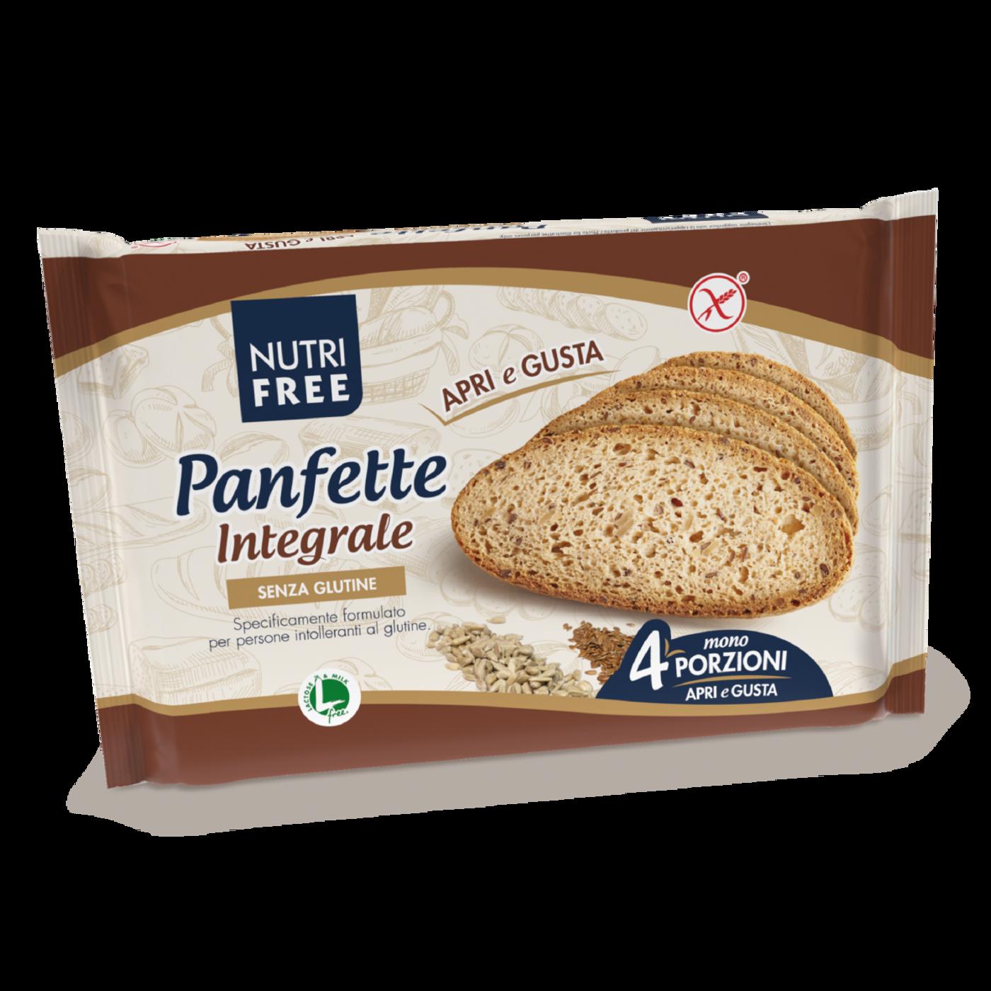 "Panfette Integral Pan Casereccio ""Sin Gluten"""