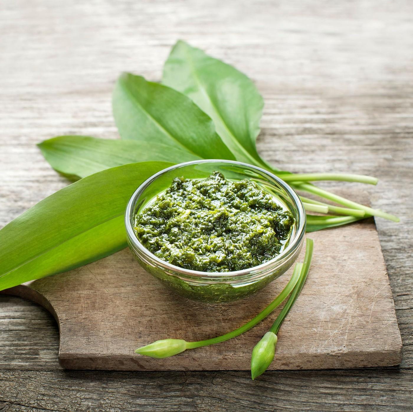 receta de Pesto Con Albahaca Genovesa Dop