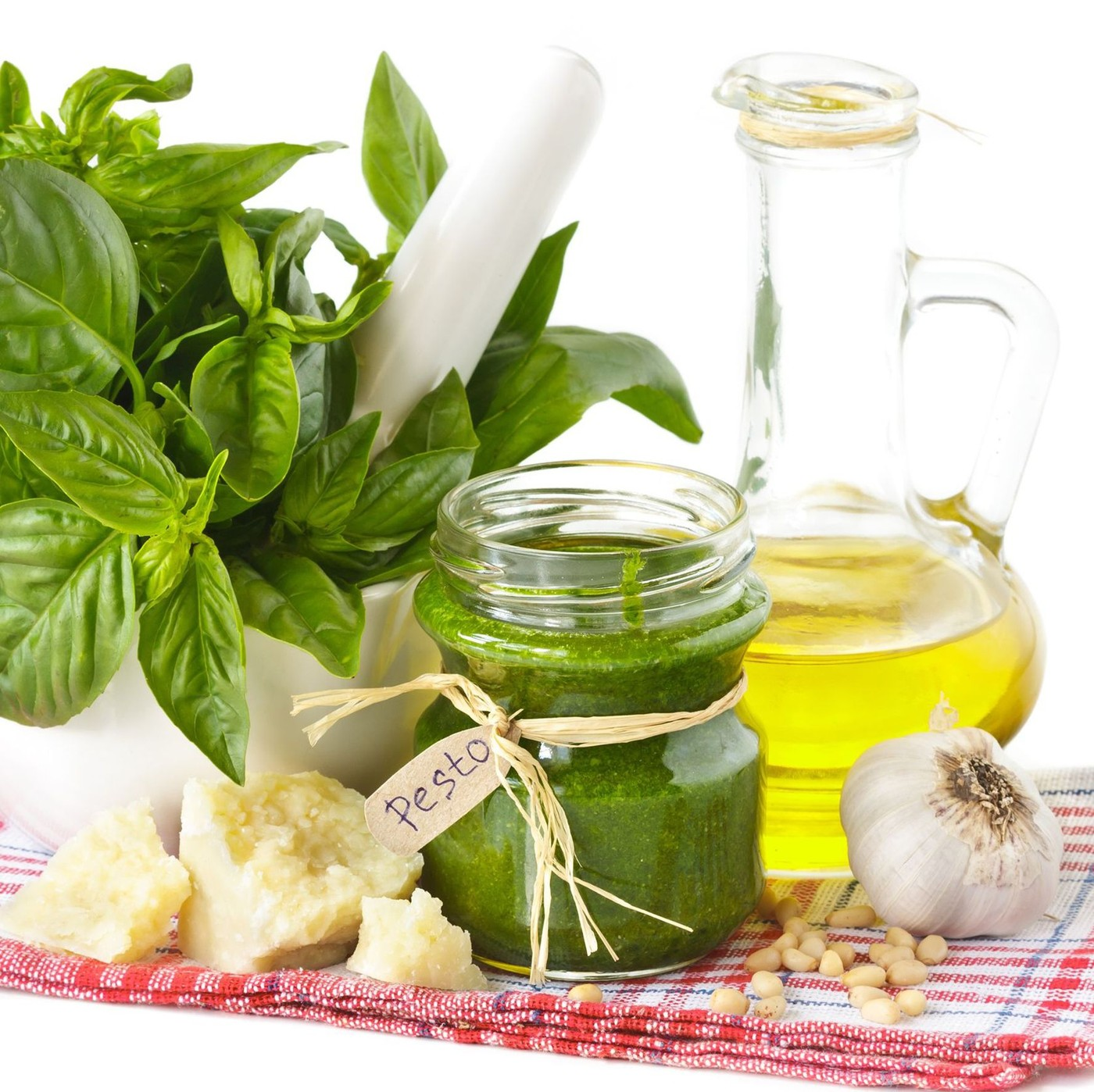 receta de Pesto Con Albahaca Genovesa Dop Y Trufa